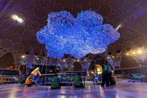 انطلاق حفل افتتاح إكسبو 2020 في دبي