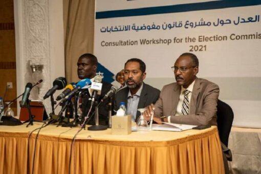 تواصل مشاورات قانون مفوضية الانتخابات مع الأحزاب السياسية وشركــاء السلام