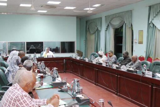 إجازة خطة مشروع بناء السلام والتعايش السلمي بغرب دارفور