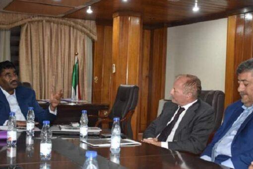 وزير الصناعة يبحث مع شركة إيطالية مشاريع للاستثمار في السودان