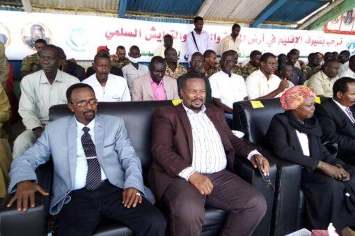 النيل الأزرق:وزراء وقيادات شبابية يعددون مكاسب سلام جوبا