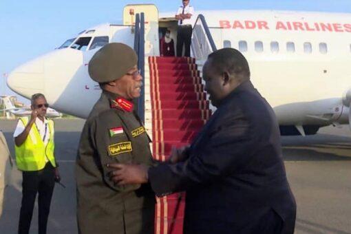 رئيس وفد الوساطة الجنوبية يختتم زيارته للبلاد