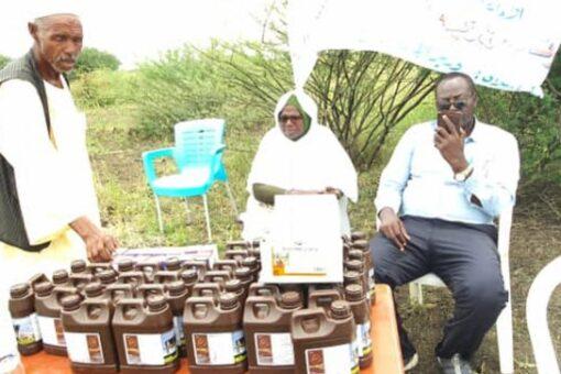 توزيع أدوية مجانية للوحدات البيطرية بسنار بالتعاون مع منظمة الفاو