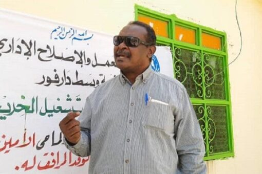 المدير العام لجهاز تشغيل الخريجين يختتم زيارته لوسط دارفور