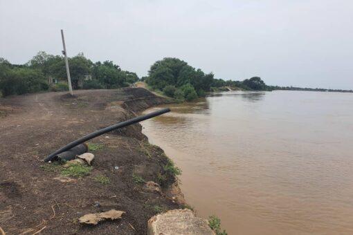 منسوب النيل الأزرق بمدينة سنجة يوالي الارتفاع لليوم الثاني
