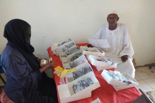 انطلاق الوثبة الأولى لمخيم العيون بمنظمة الحبر الخيرية بالجزيرة