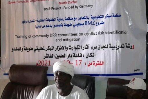 ورشة تدريبية حول الإنذار المبكر و درء الكوارث بشمال دارفور