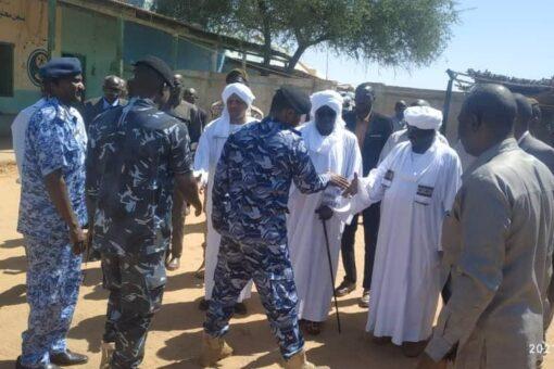 وزير الشئون الاجتماعية يؤكد أهمية الشرطة لحفظ الأمن بشمال دارفور
