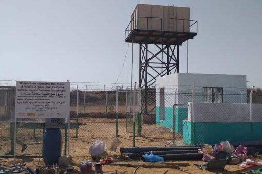 مياه الريف بشمال دارفور تشيدبمشروعات المياه التي تنفذها الساحل سودان