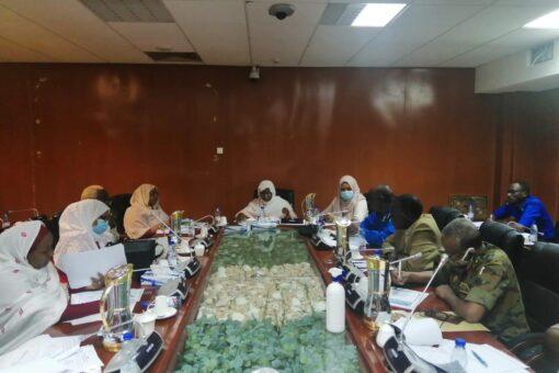 اللجنة الوطنية لمكافحة إلاتجار بالبشر تعقد إجتماعها