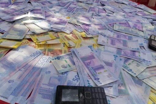 القبض على شبكة اجرامية تنشط في تزييف العملة