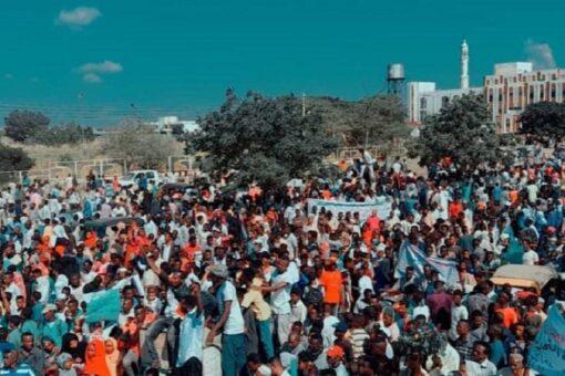 حشود مليونيةغير مسبوقة تخرج اليوم بالقضارف للمشاركة في موكب21 أكتوبر