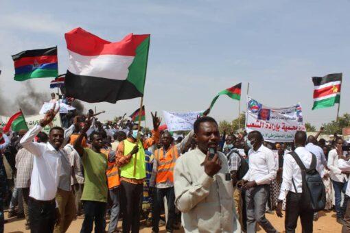 غرب دارفور :21 إكتوبر تأكيد لتلاحم الجماهير للتحول الديمقراطي