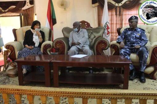 السفيرة الهولندية لدى السودان تزور ولاية شمال دارفور