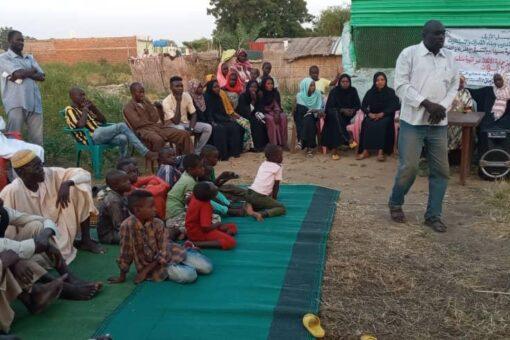 مركز ريادة الطوعي بإقليم النيل الأزرق يطلق حملات للتوعية